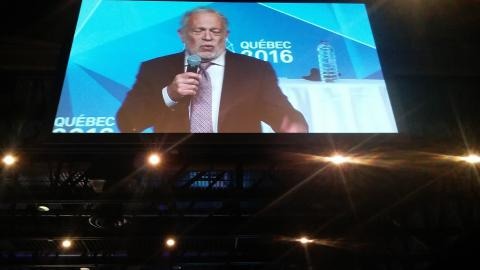 Robert Reich gave the keynote on the importance of coops.