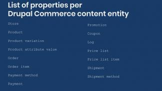 Migration properties per commerce content entity list