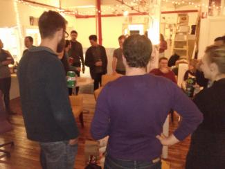 Worc'n Holiday Party - Agaric Worker/Owner Meetup